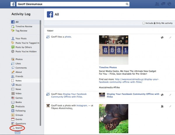 HOW TO] Delete Your Facebook Search History in 3 Steps -