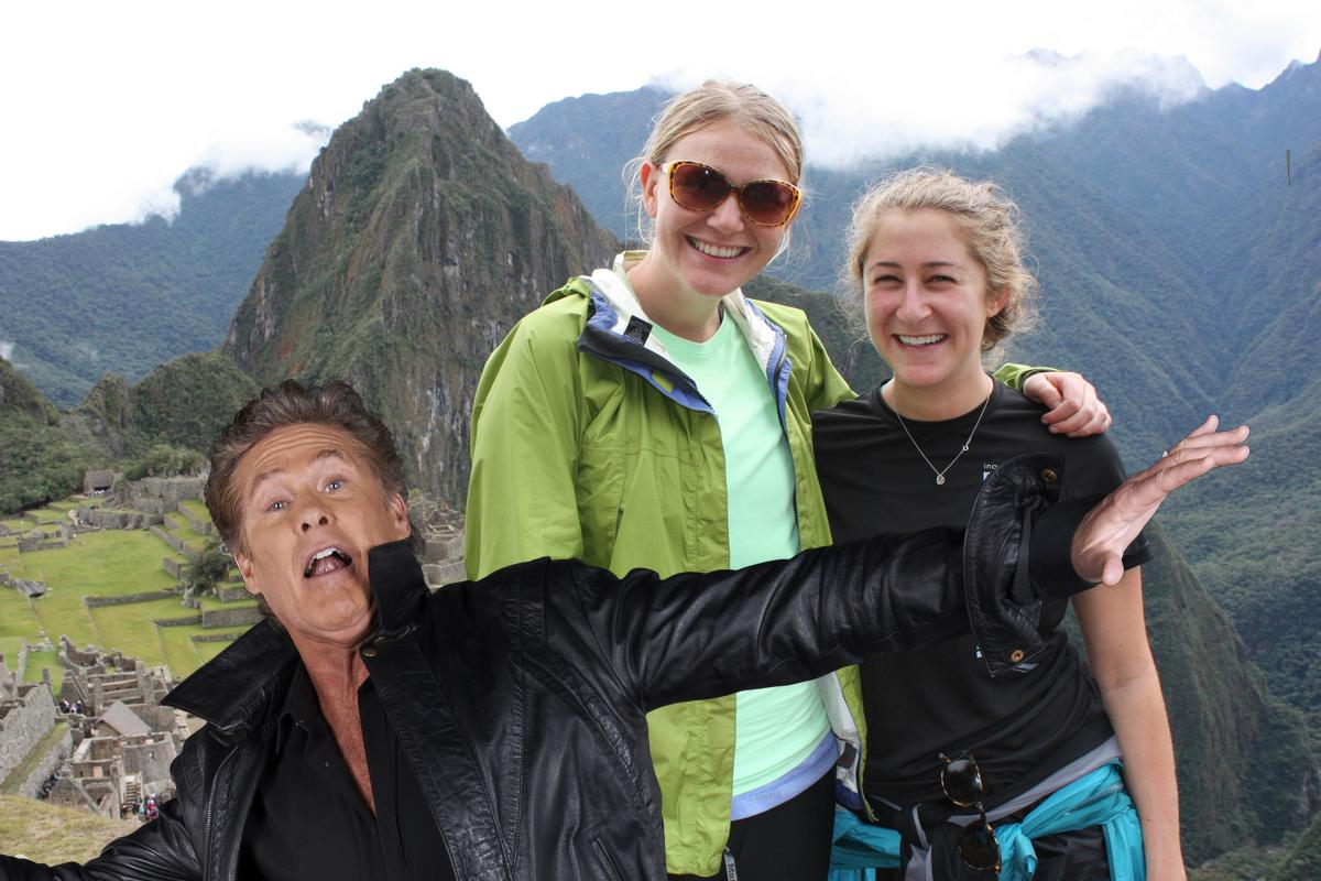 auto awesome photobombs hasselhoff 2