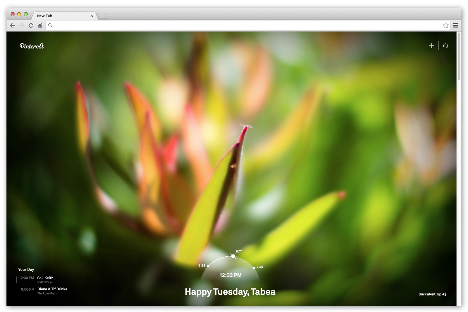 pinterest new pin button chrome extension 2