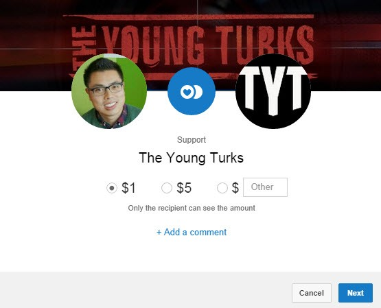 donate to your favourite youtube channels fan funding