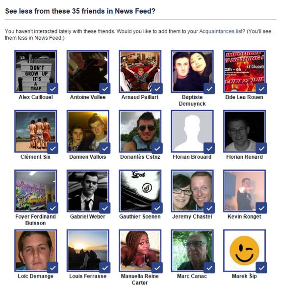 wersm curate the perfect newsfeed organise friends