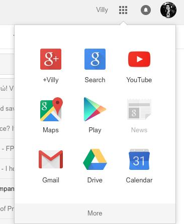 wersm google+ link in Google apps