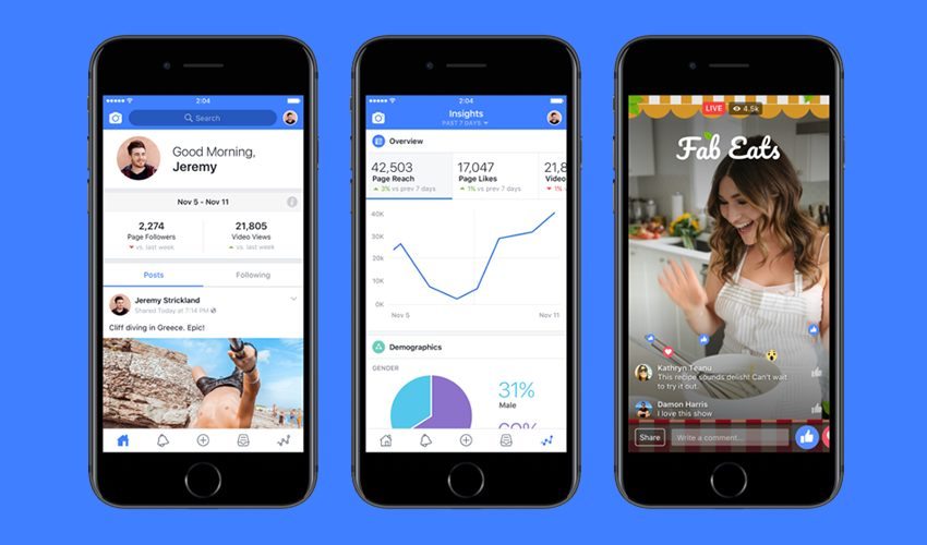 Facebook Renames Its Mentions App For Verified Public Figures, Adds