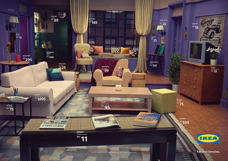 From Iconic Tv Living Rooms To Perfect Ikea Ads