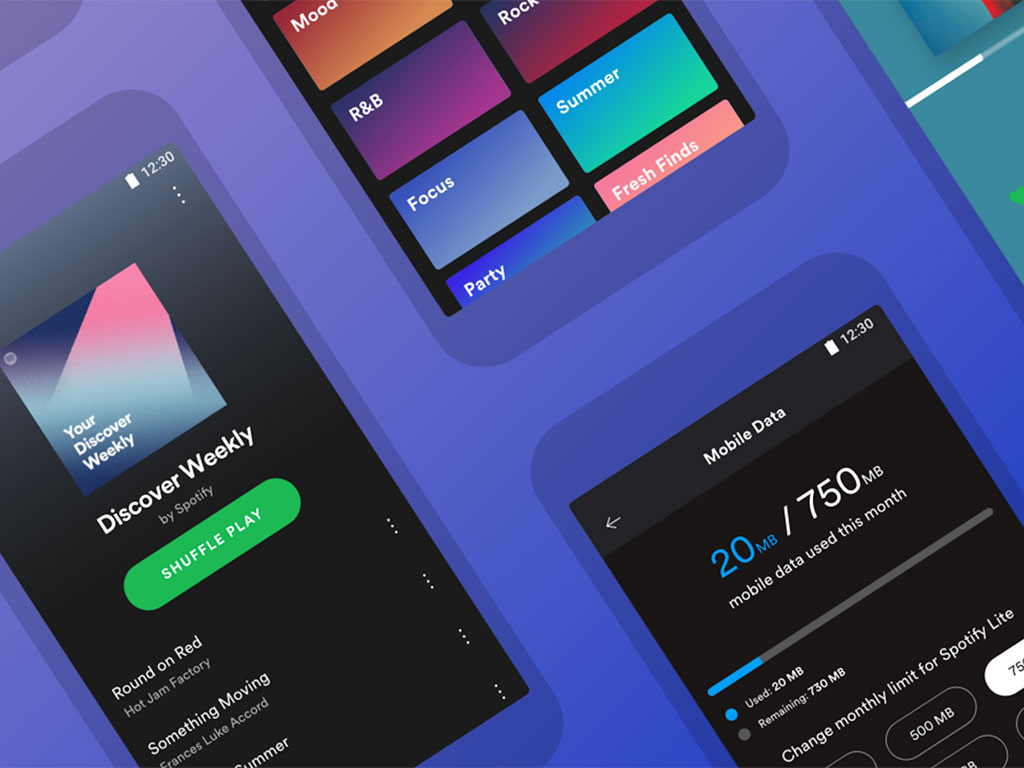 10Mb spotify lite is here and it takes up only 10mb