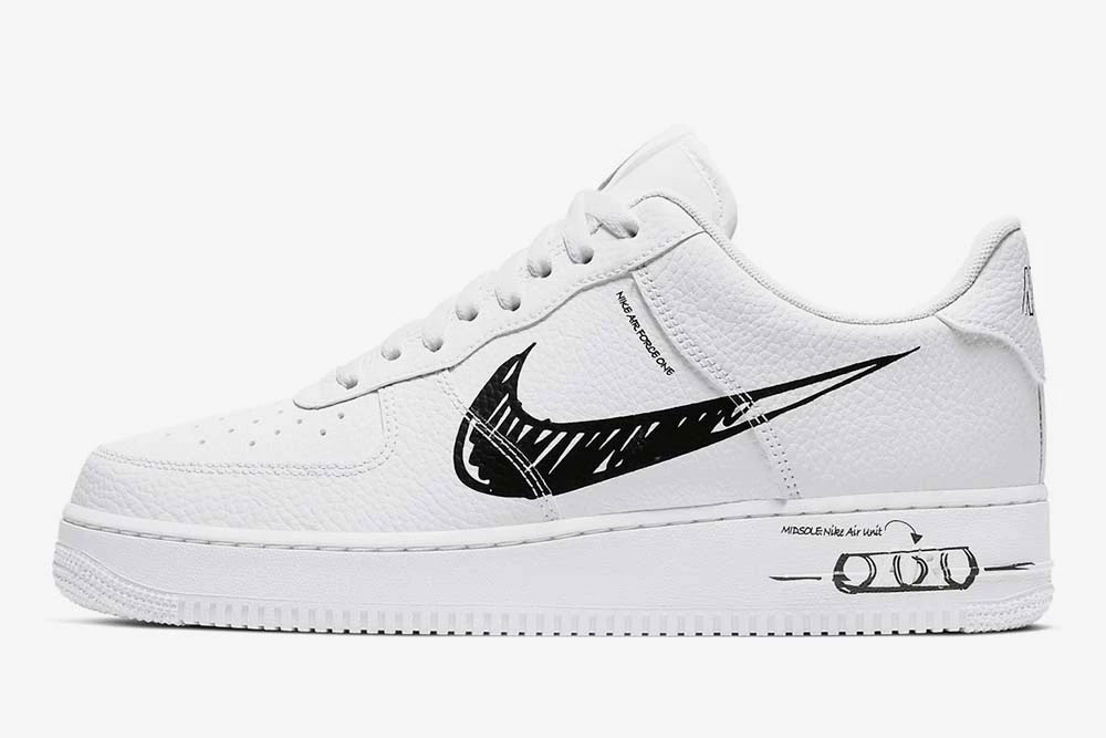 "Get Into DIY Style With Nike's New Air Force 1 ""Sketch"""