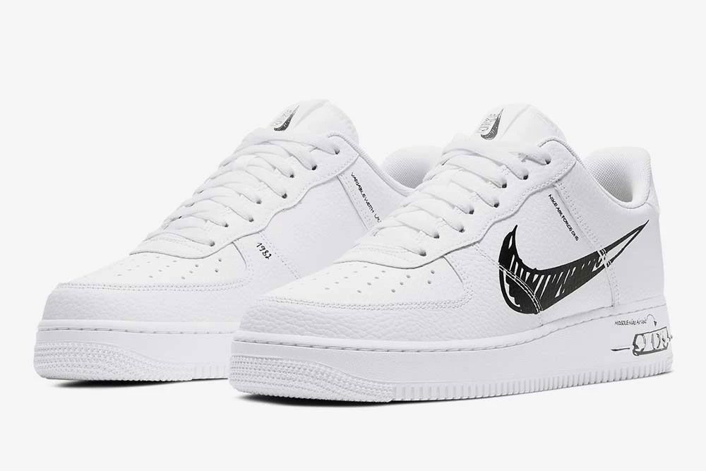 """Get Into DIY Style With Nike's New Air Force 1 """"Sketch"""""""