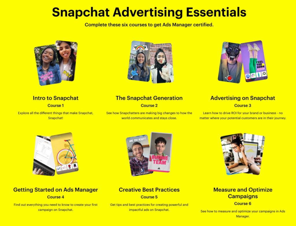 snap advertising essentials