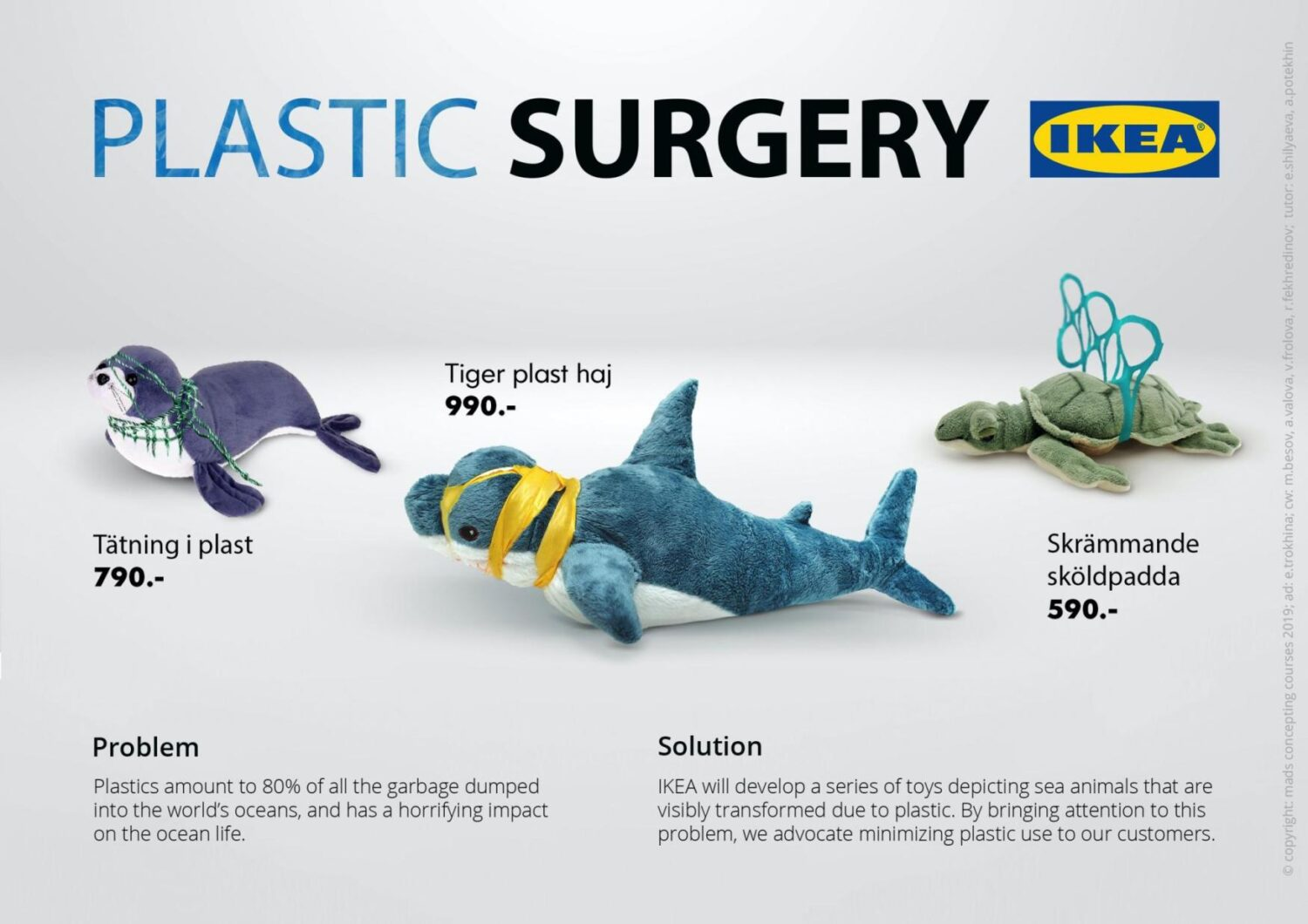 Ikea Plastic Surgery A Campaign Against Plastic Pollution Plastic packaging is one of the biggest wastes we experience on a daily basis. ikea plastic surgery a campaign