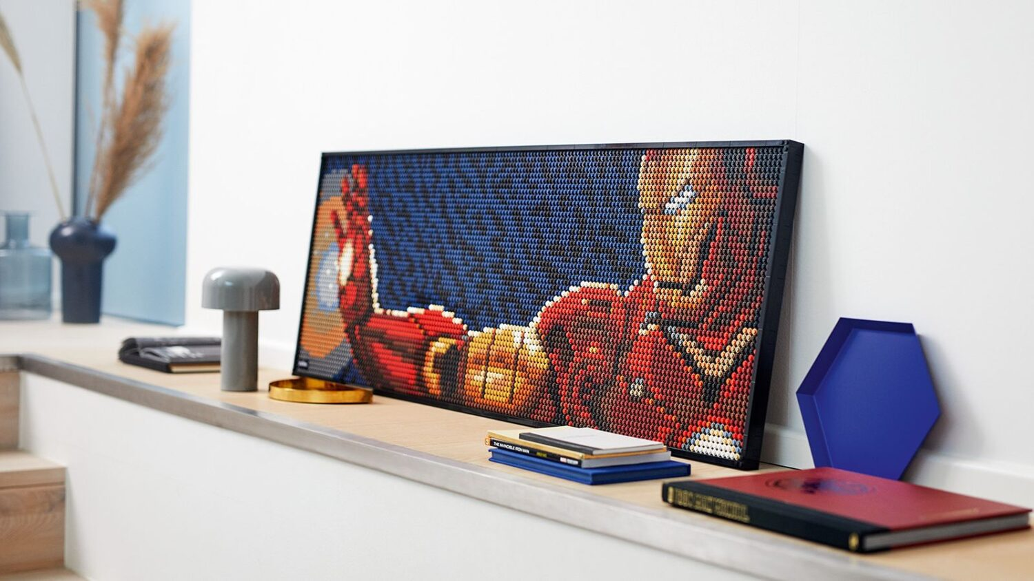 wersm lego art iron man