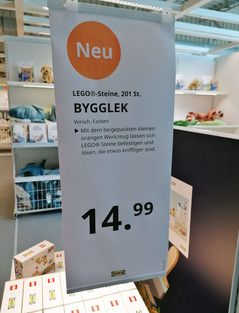 BYGGLEK Is The First Product Born Out Of The IKEA x LEGO ...