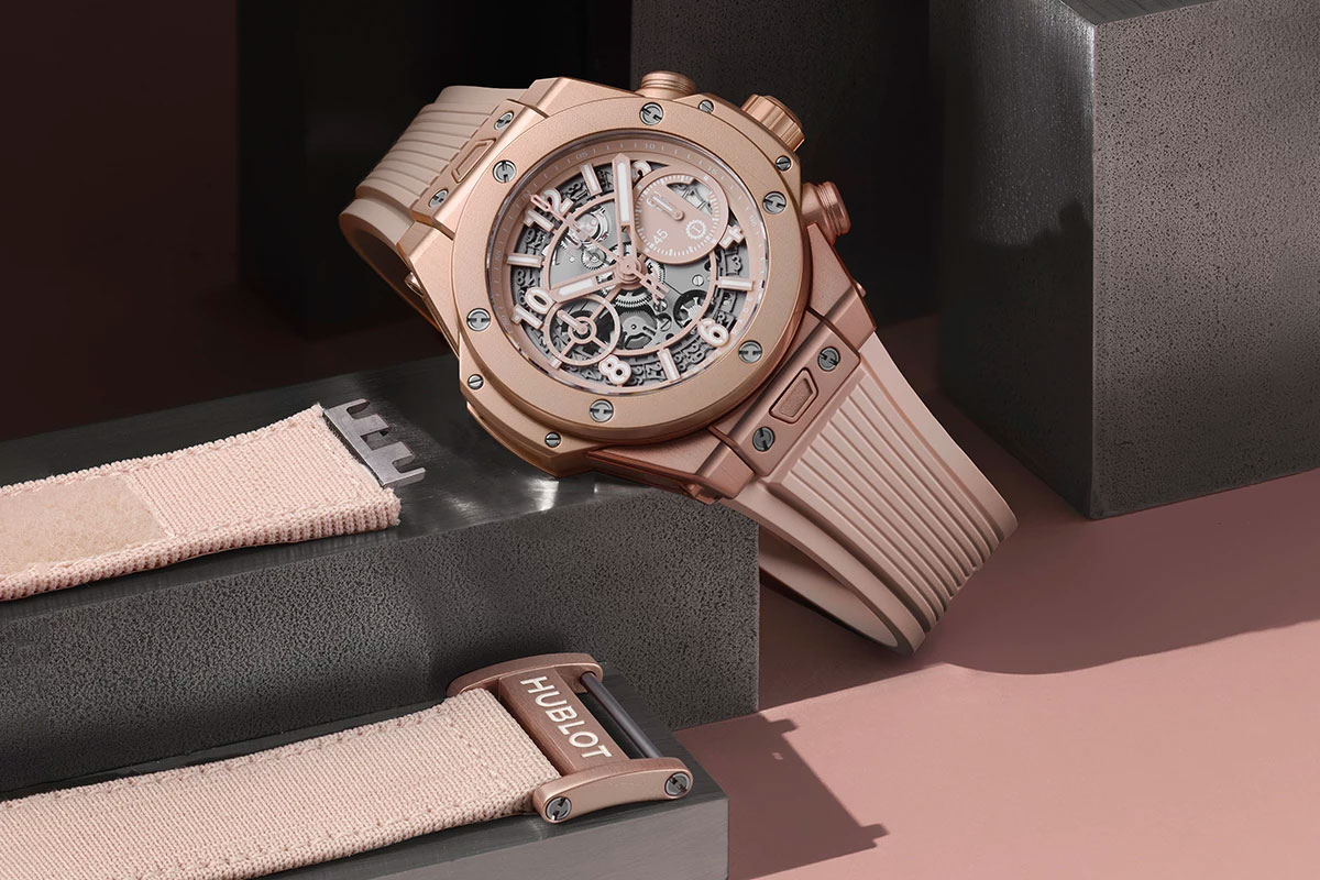 hublot millennial pink big bang
