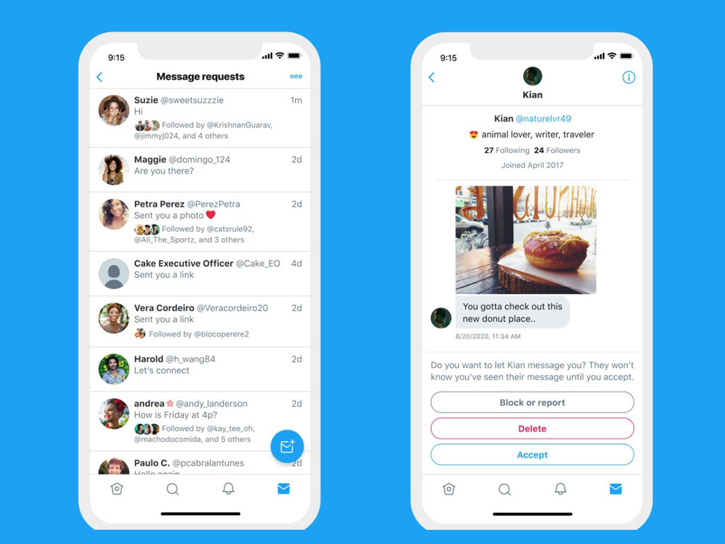 Twitter Now Provides More Context About Who Sent You DM Requests