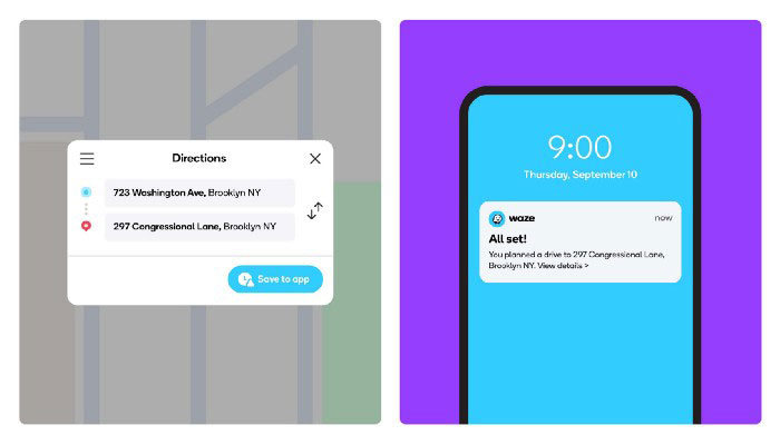 Waze New Update Lets You Send Directions from your Computer to Phone