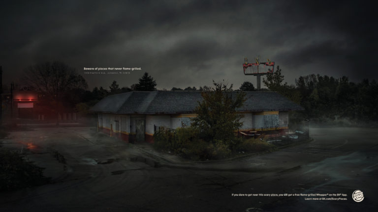 burger king scary places