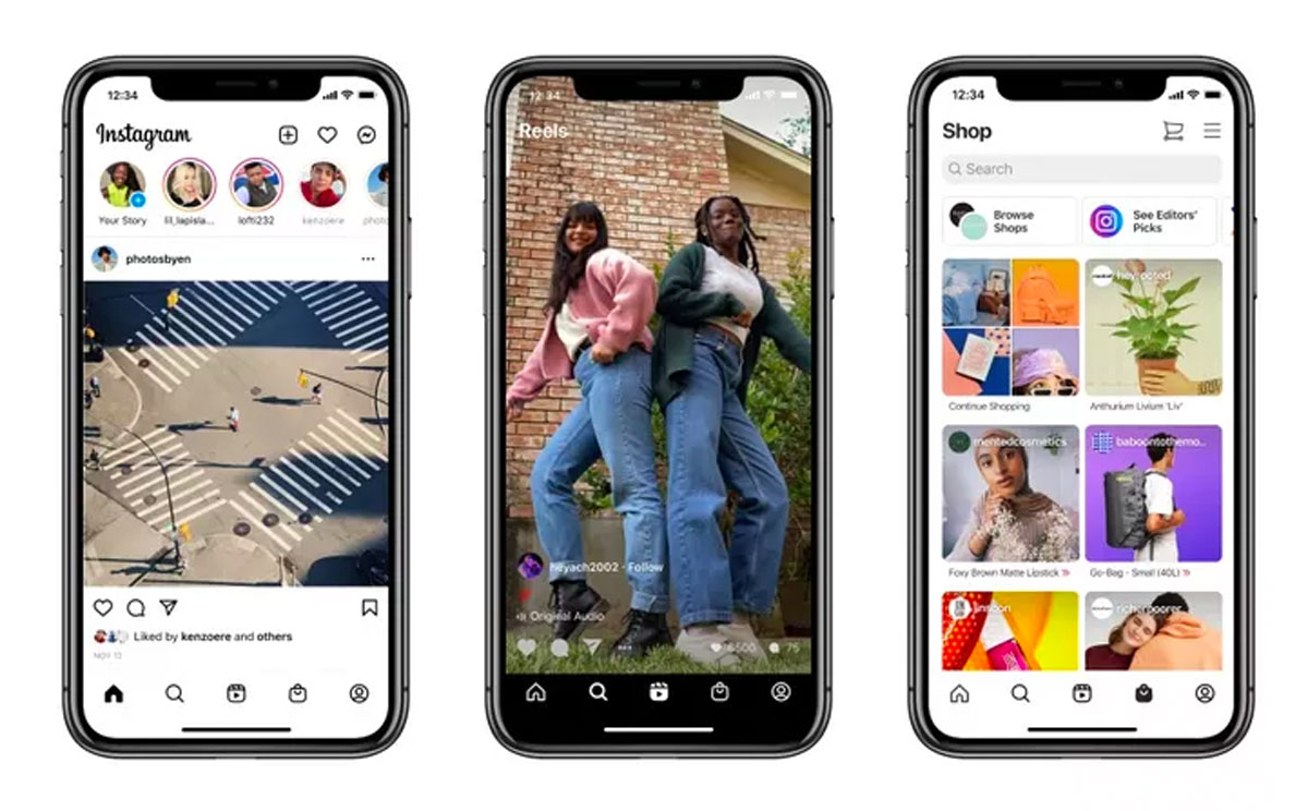 instagram home screen redesign
