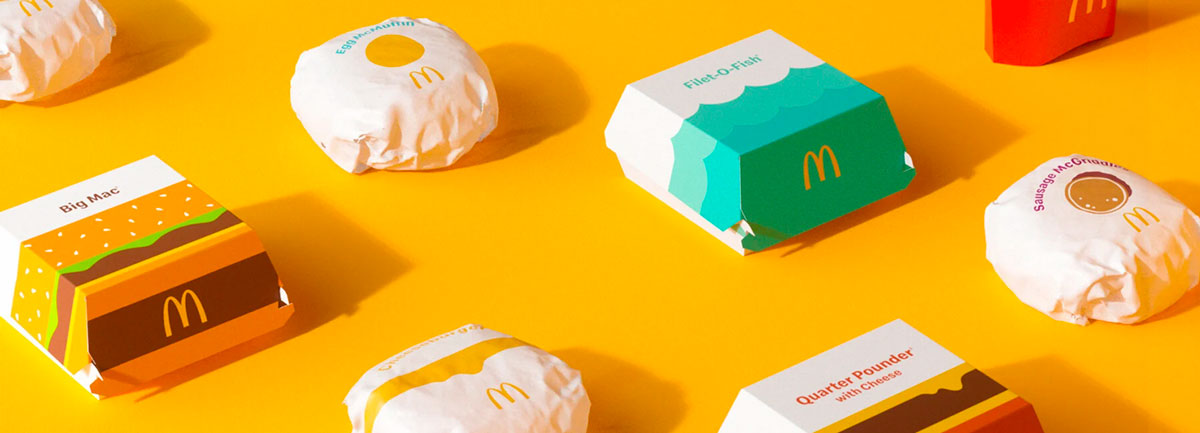 mcdonalds packaging redesign