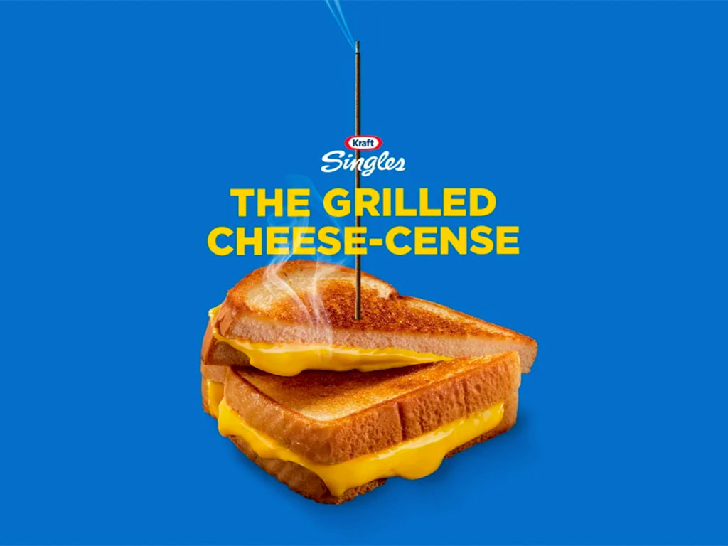Kraft Singles Grilled Cheese